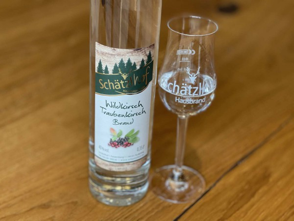 Wildkirsch/Traubenkirsch 40% Silber '16